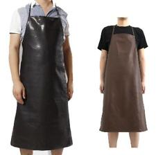 120 Leather Apron Waterproof Anti-Oil Cooking Chef Restaurant Kitchen&Gardening