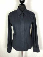 CALVIN KLEIN Camicia Donna Cotone Elegante Blusa Woman Cotton Shirt Sz.S - 42
