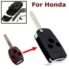 3 Tasten Schlüssel Gehäuse Klappschlüssel für Honda Accord Civic Jazz CRV HRV