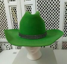 Vintage Men'S Western Hat 100% Wool Felt The Stockmans Size 7 1/8 Sa, Tx