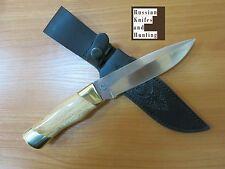 """White Shark"" knife handmade Combat Outdoor Hunting Zlatoust Russian new 58 hrc"
