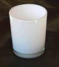 48 White Glass Tealight Candle Holder Wedding Reception Table Room Decoration