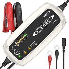 CTEK MXS 10 caricabatterie automatico (Carica, Mantiene la Carica e (D0X)