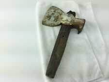 VINTAGE CARPENTER'S BROAD HATCHET HEAD WITH CLAW NAIL PULLER
