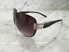 Gradient Lens Shield 100% UV400 Plastic Sunglasses for Women