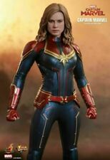 Hot Toys MMS521 Captain Marvel Deluxe 1/6 Scale 11 inch Action Figure