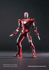 Comicave Studios 1:12 Scale Red Iron man Mk33 centurion Collectible Figure
