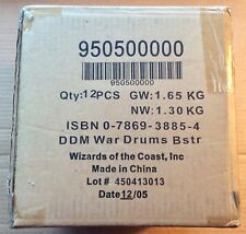 DUNGEONS & DRAGONS MINIATURES: WAR DRUMS; SEALED CASE OF 12 EXPANSION BOOSTERS