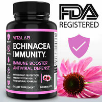 Echinacea Immunity Complex Pills Health Supplement Supports Immune Function