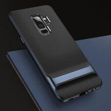 Original rock funda Prtectora para smartphones estuche Protección tapa trasera Samsung Galaxy S9 Plus G965f azul oscuro Royce serie TPU silicona