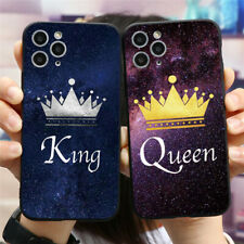 Lovers Crown Soft Silicone Phone Cover For iPhones 11 Samsung Huawei Xiaomi Case
