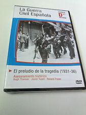"""DVD """"LA GUERRA CIVIL ESPAÑOLA EL PRELUDIO DE LA TRAGEDIA"""" PRECINTADO SEALED"""
