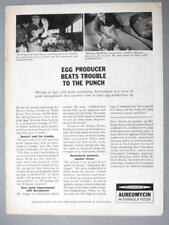 Original 1958 Feed Ad Photo Endorsed Sam Siegel, Toms River, New Jersey