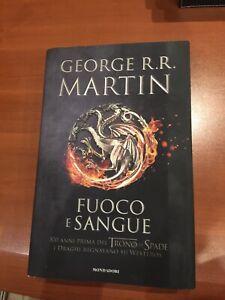George R. R. Martin - Fuoco E Sangue PRIMA EDIZIONE CARTONATO