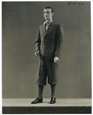 photo vintage 1930 mannequin de cire par Pierre Imans - Homme élégance masculine