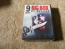Big Box of Horror: 9 Movies (DVD, 2015, 2-Disc Set) - NEW