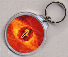 EYE OF SAURON ROUND KEYRING - Lord Of The Rings