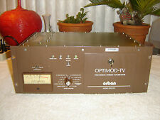 Orban 8182A/SG, 8182A Pro, Optimod-TV, Television Stereo Generator, Vintage Rack