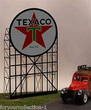 Miller's Texaco Animated Neon Sign O/HO # 5181 MILLER ENGINEERING