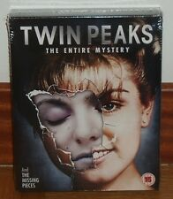 TWIN PEAKS THE ENTIRE MYSTERY SERIE COMPLETA 10 BLU-RAY NUEVO PRECINTADO NEW R2