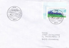 Germany 2002 International Year of Mountains FDC VGC