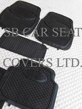 Toyota Hilux / SURF Tapis de sol voiture caoutchouc noir PVC - 5 pièces