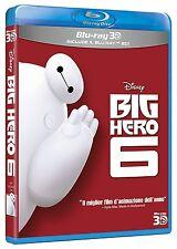 BIG HERO 6 3D (BLU-RAY 3D + 2D) ANIMAZIONE DIGITALE WALT DISNEY