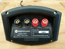 Monitor Audio Bronze B2 Crossover & speaker terminals