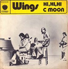 "7"" Wings (Paul McCartney / Beatles) – Hi Hi Hi // French 1972"
