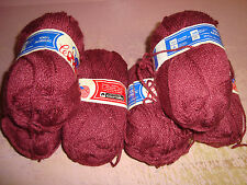 Lot Of 6...Chat...Mulberry Yarn..2 oz ea