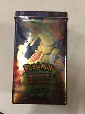 Pokemon EX Deck Box  Tin, Dragon, Promos, Packs And Stickers Inside