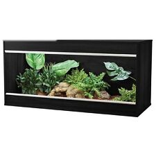 Vivarium Reptile Habitat Vivexotic Repti Home Large Black Viv Exotics Enclosure