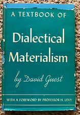 A Textbook of Dialectical Materialism - David Guest - 1939 HC