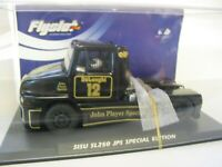 FLYSLOT 201305 SISU SL-250 JOHN PLAYER SPECIAL TRUCK SCALEXTRIC COMPATIBLE BNIB