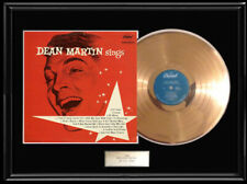 DEAN MARTIN SINGS RARE DEBUT ALBUM GOLD METALIZED RECORD VINYL LP RARE FIRST