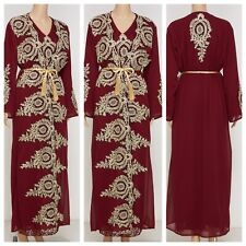 Moroccan Styled High End Takchita with Belt SIZE SMALL UK SIZE 8/10