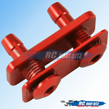 RC Boat Dual water outlet for small hose red 521B41-R