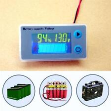 12V Indicator Battery Capacity Voltage Tester Display Lead-acid Monitor W/ Cabl