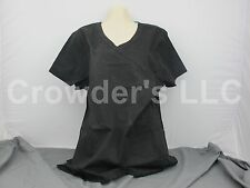 Scrub Star Premium Shirt Top Size L/G Color Black