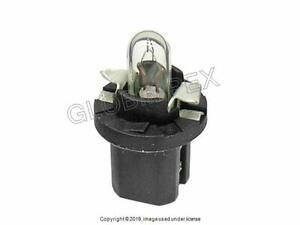 PORSCHE 924 928 944 968 (77-95) Bulb w/Socket Base for Dashboard Instruments 12V