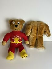 Vintage 1984 SuperTed Plush Teddy Bear Petalcraft