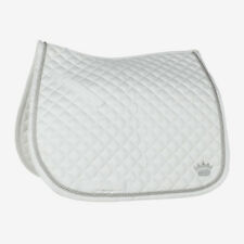 Horze Silver Cord Edge Dressage Saddle Pad with Extra Wither Relief