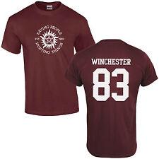Saving People Hunting Things T-Shirt - Supernatural Sam Dean Winchester Bros Top