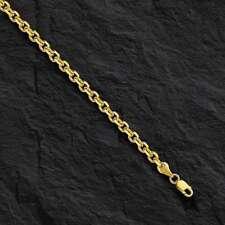 "14kt желтое золото кабель связь кулон цепочка ожерелье/18"", 1.9 мм, 3.6 г, CAB050"