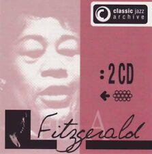 Ella Fitzgerald - Classic jazz archive  - 2 CDs -