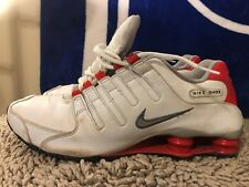 Nike Shox NZ, 378341-150, Red / White, Men's Running Shoes, Size 11