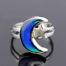 New Fashion Mood Finger Ring Emotion Feeling Color Change Adjustable Ring Band