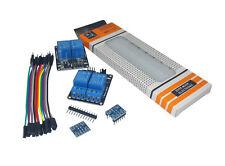 2x Dual 2 Channel 5V Relay Module + Logic Level Converter Raspberry Pi + Arduino