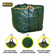 More details for new 2 x garden waste bags 80l reusable heavy duty sacks rubbish bag large refuse