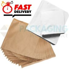 More details for strung sulphite white paper bags sweet food s m l sizes